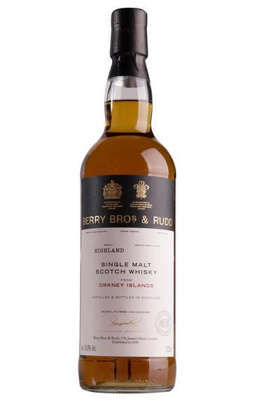 2000 Berrys' Orkney, Cask No 3, Single Malt Scotch Whisky, 56.4%