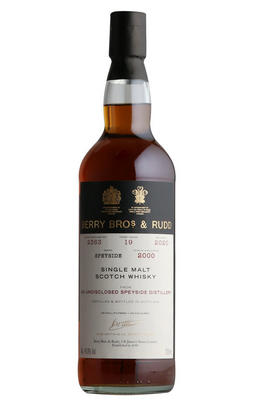 2000 Berry Bros. & Rudd Own Selection Speyside, Cask No. 2363, 19 Year-Old, Bottled 2020,  Single Malt Scotch Whisky (46%)
