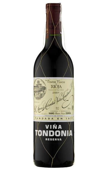 2001 Viña Tondonia Tinto Reserva, Bodegas R. López de Heredia