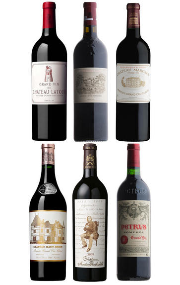 2003 Bordeaux Primeur Cru, Assortment Case (6 Btl)