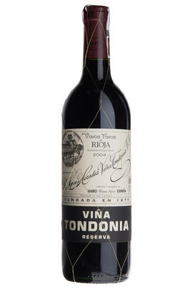 2004 Viña Tondonia Tinto, Reserva, Bodegas R. López de Heredia, Rioja, Spain