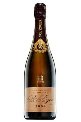 2004 Champagne Pol Roger Rosé, Brut