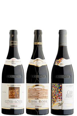 2005 Côte-Rôtie Trilogie, E. Guigal, Rhône, Three-bottle Assortment Case