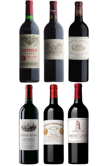 2005 Bordeaux Primeur Cru, Assortment Case (6 Btl)
