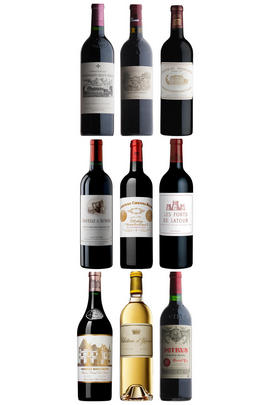 2005 Duclot Premier Cru, Nine-bottle Prestige Bordeaux Assortment Case