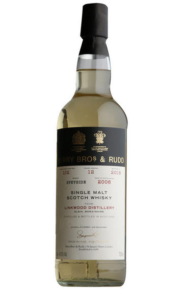 2006 Berry Bros. & Rudd Own Linkwood, Cask Ref. 102, Single Malt Scotch Scotch Whisky (46%)