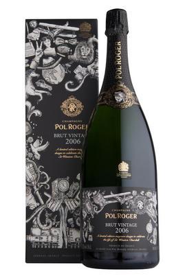 2006 Champagne Pol Roger, Vintage Brut, Commemorative Limited Edition