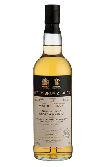 2006 Berrys' Craigellachie, Cask 8101277 Single Malt Scotch Whisky, (53.9%)