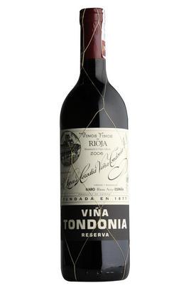 2007 Viña Tondonia Tinto, Reserva, Bodegas R. López de Heredia, Rioja, Spain