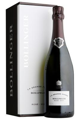 2007 Champagne Bollinger, La Grande Année, Rosé, Brut, Prestige Box