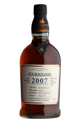 2007 Foursquare, Exceptional Cask Selection, 12-Year-Old Rum, (59%)
