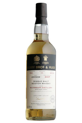 2007 Berrys' Own Miltonduff, Cask 341, Single Malt Scotch Whisky, (55.8%)