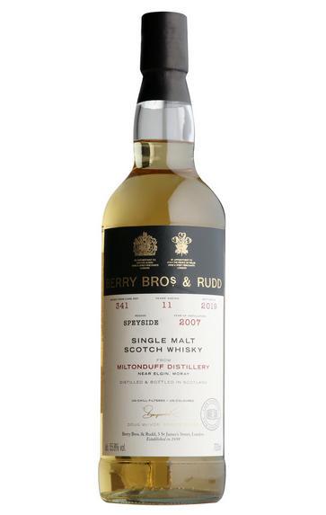 2007 Berrys' Own Miltonduff, Cask 341, Single Malt Scotch Whisky, (55.8%)
