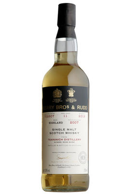 2007 Berrys' Teaninich, Cask No. 702607, Highlands, Single Malt Whisky 56.9%