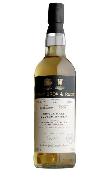 2007 Berrys' Teaninich, Cask No. 702607, Highlands, Single Malt Whisky 56.9%