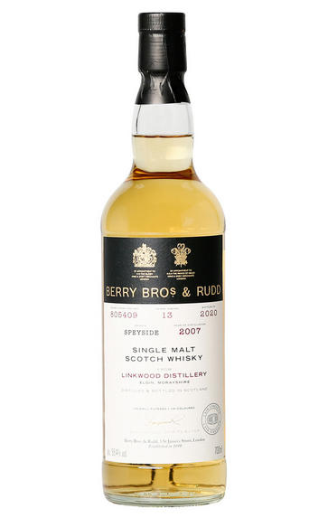 2007 Berry Bros. & Rudd Linkwood, Cask Ref. 805409, Speyside, Single Malt Scotch Whisky (58.4%)