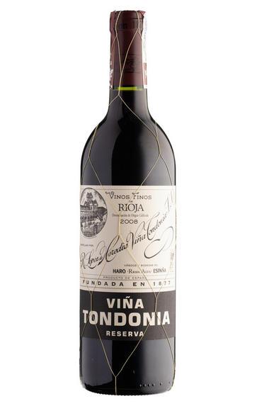 2008 Viña Tondonia Tinto, Reserva, Bodegas R. López de Heredia, Rioja, Spain