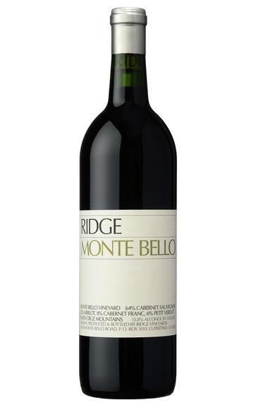 2008 Ridge Vineyards, Monte Bello, Santa Cruz Mountains, California, USA