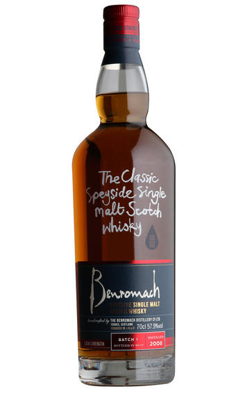 2008 Benromach, Cask Strength Batch 1, Single Malt Scotch Whisky, 57.9%