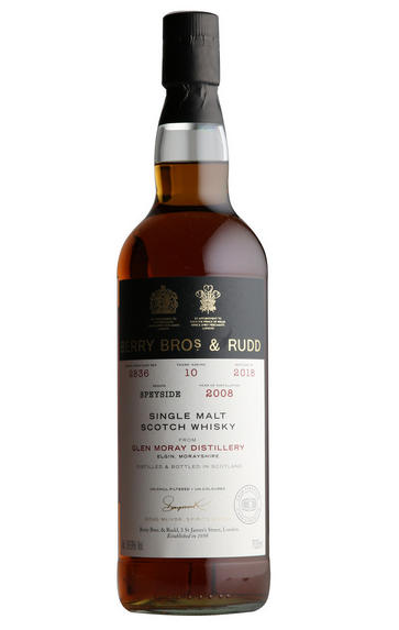 2008 BOS Glen Moray, Cask No. 2836, Single Malt Scoth Whisky, (55.9%)