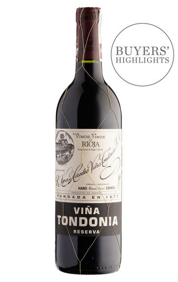2009 Viña Tondonia Tinto, Reserva, Bodegas R. López de Heredia, Rioja, Spain