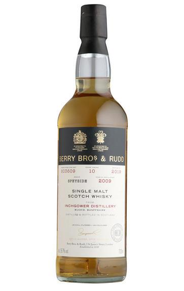 2009 Berrys' Inchgower, Cask 803609, Single Malt Scotch Whisky, (56.7%)