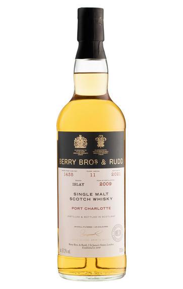 2009 Berry Bros. & Rudd Port Charlotte, Cask Ref. 1435, Single Malt Scotch Whisky, Islay (61.2%)