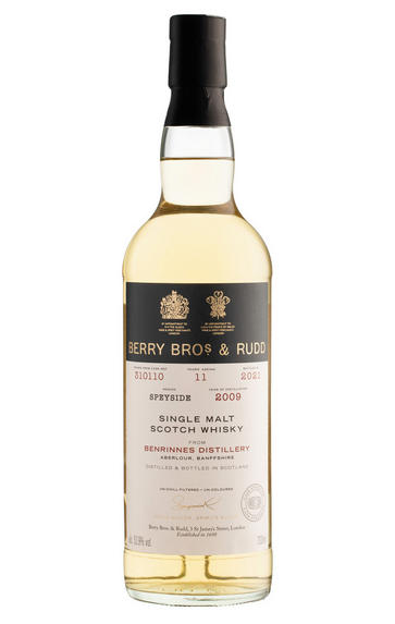 2009 Berry Bros. & Rudd Benrinnes, Cask Ref. 310110, Speyside, Single Malt Scotch Whisky (52.9%)