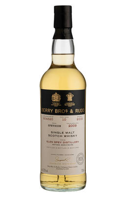 2009 Berrys' Glen Spey, Cask Ref 804620, 10-Years, Single Malt Whisky, 57.2%