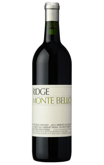 2010 Ridge Vineyards, Monte Bello, Santa Cruz Mountains, California, USA