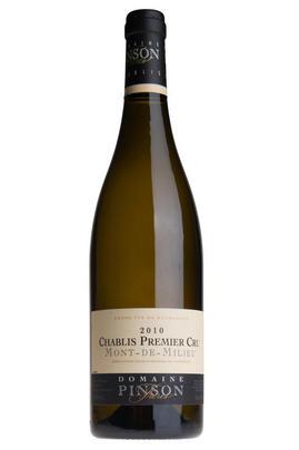 2010 Chablis, Mont de Milieu, 1er Cru, Domaine Pinson