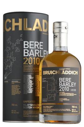 2010 Bruichladdich, Bere Barley, 8-Year- Old Islay, Single Malt Whisky (50%)