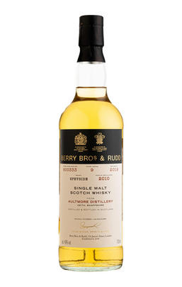 2010 Berrys' Aultmore, Cask Ref 800333, Single Malt Scotch Whisky, (46%)