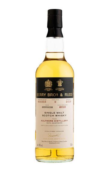 2010 Berrys' Aultmore, Cask Ref 800333, Single Malt Scotch Whisky, (46%)