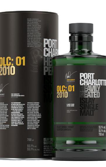 2010 Bruichladdich, Port Charlotte, OLC: 01, Heavily Peated, Islay, Single Malt Scotch Whisky (55.1%)