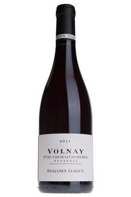 2011 Volnay, Clos de la Cave des Ducs, 1er Cru, Benjamin Leroux, Burgundy