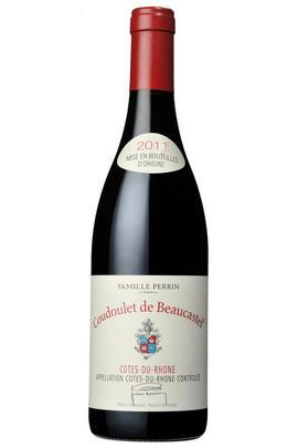 2011 Côtes du Rhône Rouge, Coudoulet de Beaucastel, Château de Beaucastel