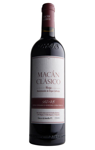 2011 Macán, Bodegas Benjamin de Rothschild & Vega Sicilia, Rioja, Spain