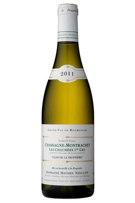 2011 Chassagne-Montrachet, Chaumées Clos Truffiere, 1er Cru, Michel Niellon