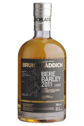 2011 Bruichladdich, Bere Barley, Islay, Single Malt Scotch Whisky (50%)