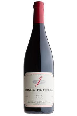 2012 Vosne-Romanée, Domaine Jean Grivot