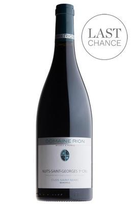 2012 Nuits-St Georges, Clos Saint-Marc, 1er Cru, Domaine Michèle & Patrice Rion, Burgundy