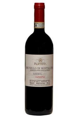 2012 Brunello di Montalcino, Riserva, Gemini, La Serena, Tuscany, Italy