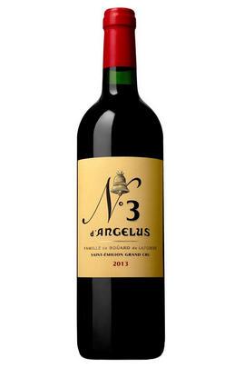 2012 No. 3 d'Angélus, St Emilion, Bordeaux