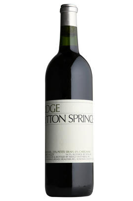 2012 Ridge Vineyards, Lytton Springs, Sonoma County, California, USA