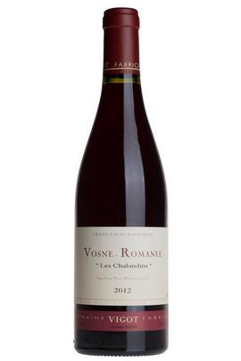 2012 Vosne-Romanée, Les Chalandins, Domaine Vigot, Burgundy
