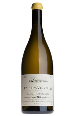 2012 Pouilly-Vinzelles, Climat Les Quarts, Cuvée Millerandée, La Soufrandière, Bret Brothers, Burgundy