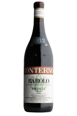 2012 Barolo, Francia, Giacomo Conterno, Piedmont, Italy