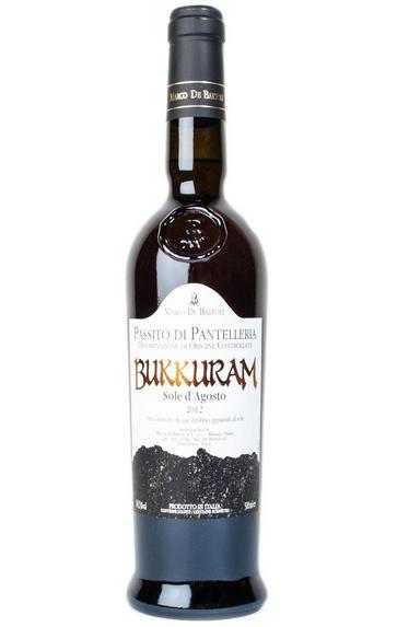 2012 Bukkuram, Passito di Pantelleria, Sole d'Agosto, Marco De Bartoli, Sicily, Italy