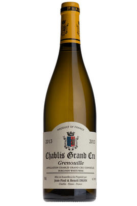 2013 Chablis, Grenouilles, Grand Cru, Jean-Paul & Benoît Droin, Burgundy